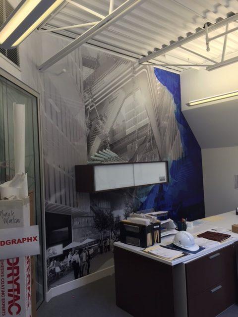 Murale en film décoratif