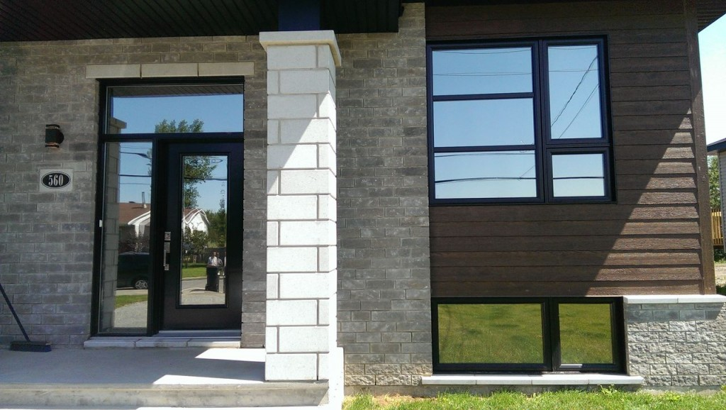 Pellicule solaire NV 15 sur une résidence