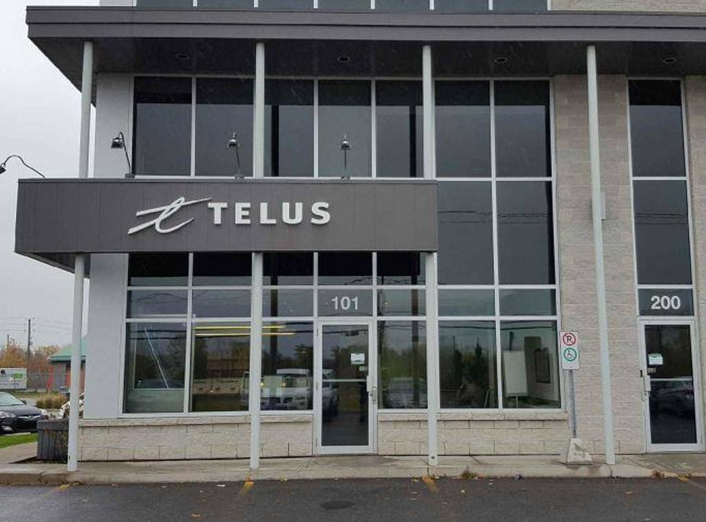 Pellicule de sécurité pour Telus