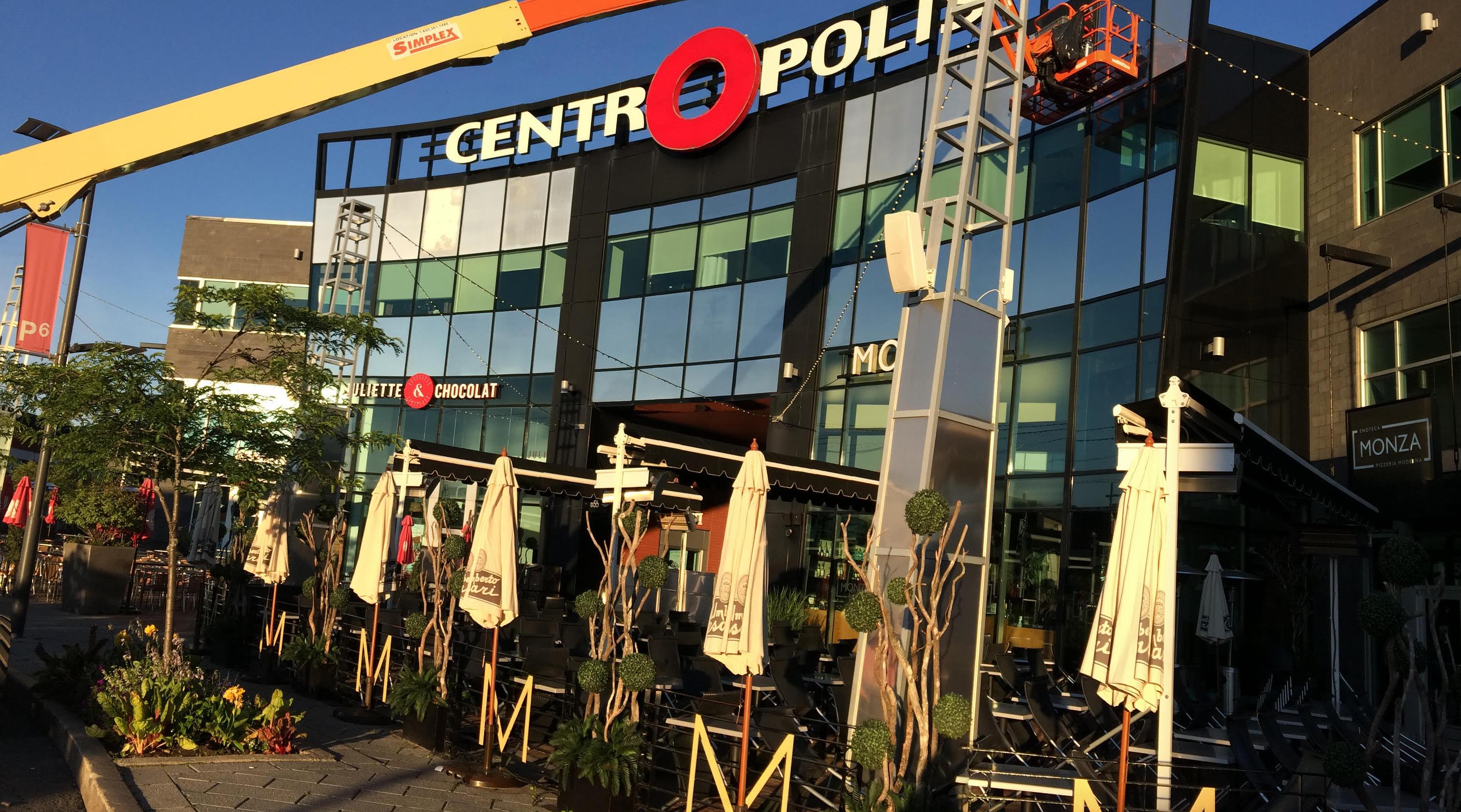 Pellicule décorative Centropolis