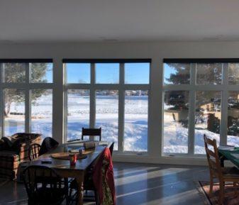 Pellicule solaire pour fenêtre