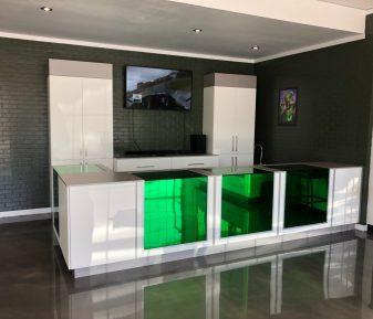 Pellicule décorative verte