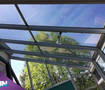 Pellicule solaire intérieure