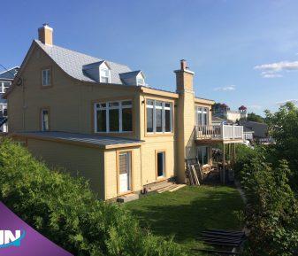 Pellicule solaire pour une maison